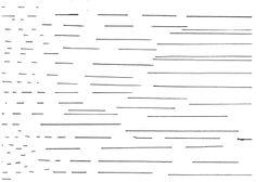 Lines, black. Feutre. © Noemie Devime