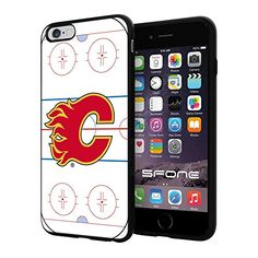 Calgary Flames 1 Rink NHL Logo WADE5208 iPhone 6+ 5.5 inch Case Protection Black Rubber Cover Protector WADE CASE http://www.amazon.com/dp/B013SCVGE0/ref=cm_sw_r_pi_dp_1bAFwb124CJGD