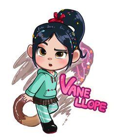 Vanelope con sweetz Walt Disney, Cute Disney, Disney And Dreamworks, Disney Pixar, Vanellope Y Ralph, New Disney Movies, Disney Princess Pictures, Vanellope Von Schweetz, Cute Anime Character