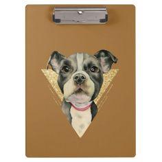Puppy Eyes 3 Clipboard - glitter glamour brilliance sparkle design idea diy elegant