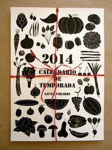 Image of CALENDARIO DE TEMPORADA 2014