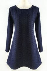 Retro Game Twist Jacquard Dress - L