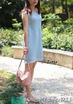 Летнее платье крючком / Вязание крючком