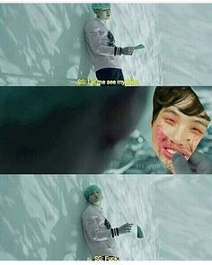 from the story BTS Memes :v by Kim_YoonHyung (kitten) with reads. Min Yoongi Bts, Bts Taehyung, Bts Suga, Bts Bangtan Boy, Bts Boys, Bts Memes Hilarious, Stupid Funny Memes, Funny Gifs, Wattpad