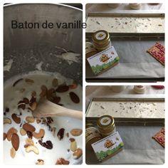 Nougat baton de vanille