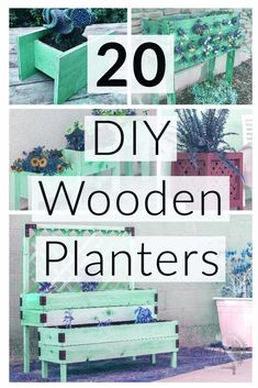 Woodworking Projects Diy Wood Crafts Great ideas! Easy DIY wooden planter box ideas to make. These 20 DIY planters can be used outdoor or indoors. Get inspiration and plans to build your own! #AnikasDIYLife #planters #woodworking.Woodworking Projects Diy Wood Crafts  Great ideas! Easy DIY wooden planter box ideas to make. These 20 DIY planters can be used outdoor or indoors. Get inspiration and plans to build your own! #AnikasDIYLife #planters #woodworking Small Woodworking Shop Ideas, Woodworking Shop Layout, Green Woodworking, Woodworking Lamp, Woodworking Projects That Sell, Fine Woodworking, Diy Wooden Planters, Wooden Diy, Easy Diy