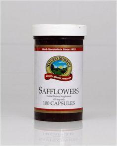Safflowers (100) Nature's Sunshine,