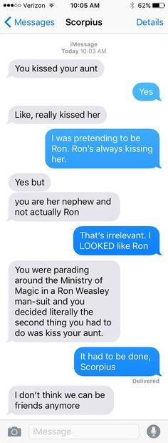SparkLife » If the Characters From Harry Potter and the Cursed Child Could Text