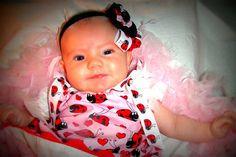 Ladybug Pillowcase dress  Pink Red & Black with by HandmadeByLoloZ, $18.00