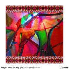 Acrylic Wall Art, Art Gallery, Wall Decor, Contemporary, Create, Prints, Photography, Color, Abstract Art