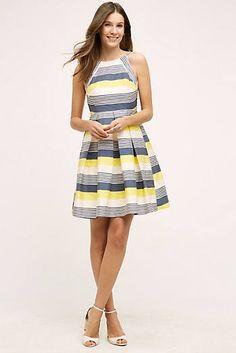 Canary Lined Dress