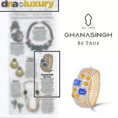 Check out this cool article on the #VintageBloomCollection by #GhanasinghBeTrue, featured in #DNAIndiaAfterHrs...