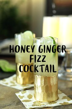 This #gin fizz has gotten a much needed sweet and savory upgrade. It's one of our favorite gin #cocktails.