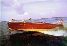 the ultimate in classy boating. Chris craft