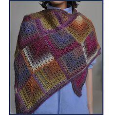 Ravelry: Mochi Plus Mitered Eyelet Shawl pattern by Gail Tanquary