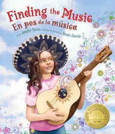 Bilingual books: Written by Jennifer Torres and published by Lee & Low, this English / Spanish story has a rich setting, convincing drama and characters you would like to have as friends. #Spanish childrens books #Spanishstories #spanish books for kids http://spanishplayground.net/bilingual-book-bicultural-world-finding-the-music/