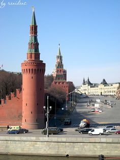 The Kremlin Tower - Moscow, Russia