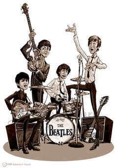 The Beatles, Just One Of My Favorite Music Groups Of All Time. George Harrison Is My Favorite, Yet I Love Them All For Different Reasons. Foto Beatles, Les Beatles, Beatles Art, Beatles Photos, Ringo Starr, George Harrison, Pop Rock, Rock N Roll, John Lennon