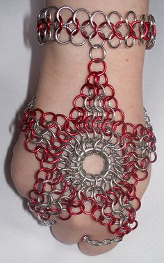 Chainmaille Hand Star | Flickr - Photo Sharing!