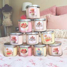 Bath and Bodyworks candles