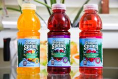 New Poland Spring Nature's Blends Juice Drinks