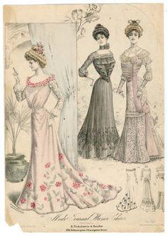 1900-1902, Plate 035 :: Costume Institute Fashion Plates