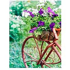 Buy Decorative Bicycle In Garden by Grigory_bruev on PhotoDune. Decorative Model Of An Old Bicycle Equipped With Basket Of Flowers. Stick Horses, Old Bicycle, Flower Basket, Program Design, Early Learning, Flower Prints, Stock Photos, Garden, Flowers