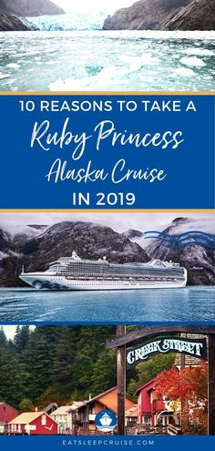 Why You Should Take a Ruby Princess Cruise to Alaska | EatSleepCruise.com If you are planning an Alaska cruise vacations, you'll want to consider the Ruby Princess. Our post outlines the what you can expect on this ships with pictures of the rooms, destinations, etc. Save this pin to plan your best Alaska travel experience!  #Alaska #cruise #AlaskaCruise #PrincessCruises #cruiseship #EatSleepCruise