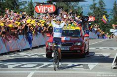 Nairo Quintana remporte la 20e étape du Tour de France 2013 à Annecy-Semnoz ! #Quintana #TDF #TDF13 #TDF100 #TDF2013 #TourDeFrance #SKODA #SkodaAimeLeTour #MaillotBlanc