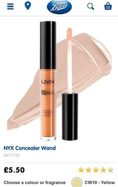NYX COSMETICS UK Concealer Yellow