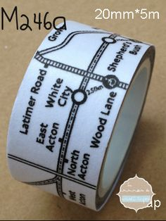 The crafting opportunities are endless with Washi Tape! Perfect for scrapbooking, arts & crafts, packaging, planner decorating and paper products. Every serial-crafter needs a little Washi Tape in their craft supply bin! Tapas, Colored Masking Tape, London Tube Map, Cinta Washi, What Is Washi Tape, Train Map, Lace Tape, I Love School, Duck Tape Crafts