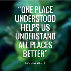 Eudora Welty Quote