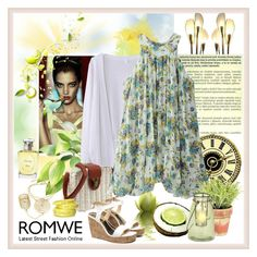 """""""WIN ROMWE $30 COUPON"""" by carola-corana ❤ liked on Polyvore featuring Bastien, FontanaArte, Christian Dior, See by Chloé and romwe"""