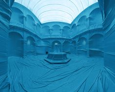 Giant Inflatable Balloons Transform Interior Spaces into Otherwordly Environments installation architecture