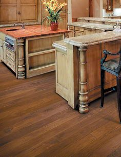 Make the most reliable & beautiful choice for #flooring with our Hickory Forge collection.