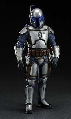 Star Wars, Jango Fett in full Mandalorian Armour