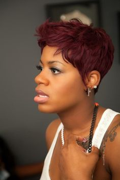 Fantasia.....wow.....I love the colo and cut!  You go girl!