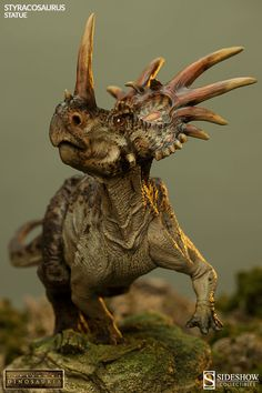 Dinosauria Styracosaurus Statue by Sideshow Collectibles | Sideshow Collectibles
