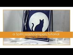 Moonlight Silhouette Tutorial - Splitcoaststampers