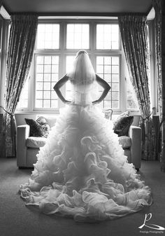 Beauitful Shot at Hogarths #Hogarths #Solihull #prestigephotography #bride #dress #shareyourmomentswithus