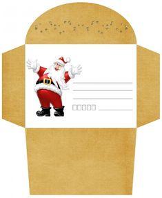 enveloppe no l imprimer gratuite 2 a imprimer gratuitement free printables pinterest
