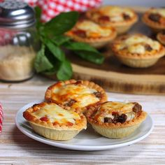 Monica's Perfect Pizza Tarts Are Quick to Make and So Delicious! - Shared