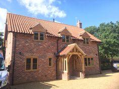 Irish Oak Residence 9 windows installed by Fenland Windows