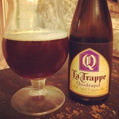 La Trappe Quadrupel Oak Aged Trappist Ale - 10% abv