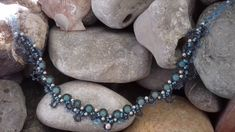 sofie's little miracles χειροποιητο κοσμημα Turquoise Necklace, Beaded Bracelets, Make It Yourself, Jewelry, Jewellery Making, Jewerly, Jewelery, Teal Necklace, Pearl Bracelets