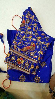 Five Best Saree Blouse Designs – Fashion Asia Wedding Saree Blouse Designs, Saree Blouse Neck Designs, Kids Blouse Designs, Maggam Work Designs, Sumo, Work Blouse, Sleeve Designs, Satin, Sarees