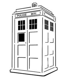 Tardis pumpkin carving stencil. | 18 Insanely Clever Pop Culture Stencils To Up Your Pumpkin Carving Game