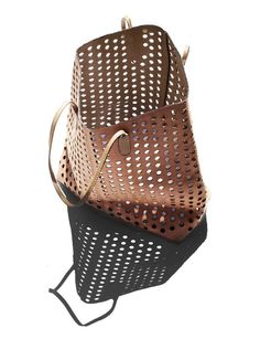 Shadow for Alaia Rachel Comey Perforated Tote Beautiful Bags, Leather Working, Leather Bag, Leather Fashion, Fashion Backpack, Purses And Bags, Fashion Accessories, Tote Bag, My Style