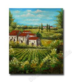 Tuscany Life Italy - Direct Art Australia,  Price: $149.00,  Availability: Delivery 10 - 14 days,  Shipping: Free Shipping,  Minimum Size: 50 x 60cm,  Maximum Size: 90 x 120cm,  Real Oil Paintings - not prints or posters.  http://www.directartaustralia.com.au/