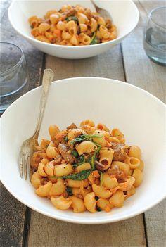 Best Rigatoni Rigate Or Other Short Cut Rigate Pasta Recipe on ...